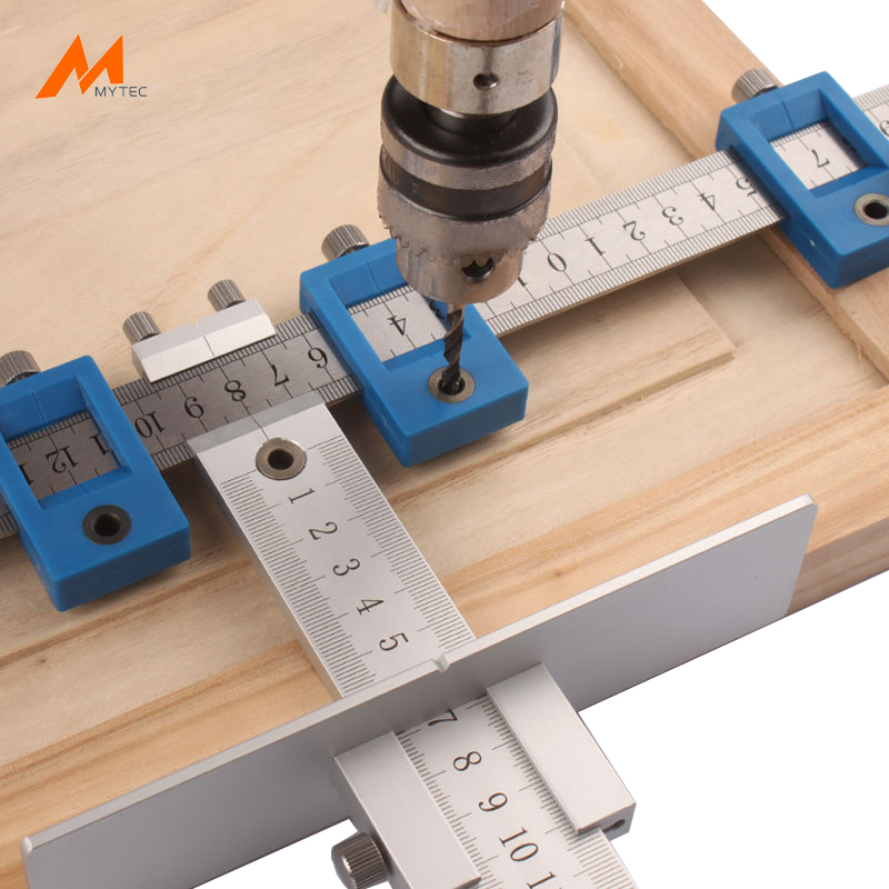 Aluminium Alloy Cabinet Hardware Jig Funiture Drawer Wood Drilling Hole Guide Sleeve 5mm Woodworking <strong>Tools</strong>