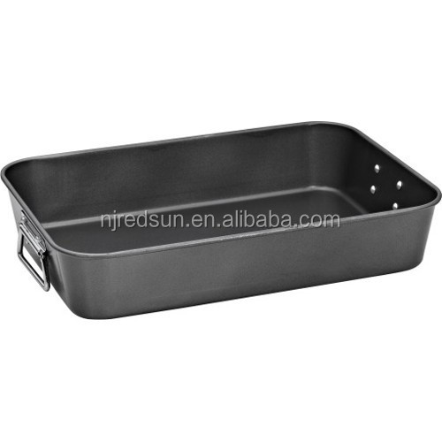Hot sale bakeware/professional beef baking pan/cast iron bread baking pan