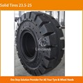 L5 Pattern Special Truck Solid Tire 23.5-25 with Holes On Sidewall