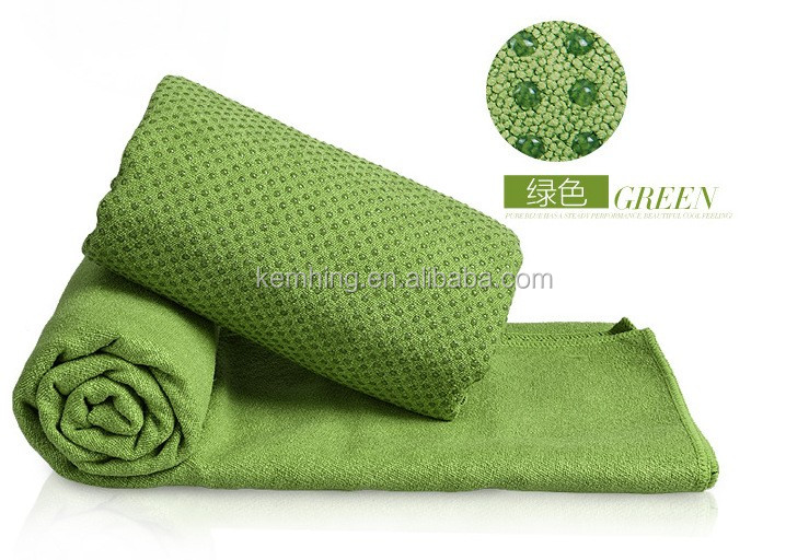yoga towel non slip microfiber towel sports hot yoga towel