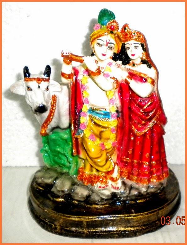 Radha Krishna Idol Indian Handicrafts Home Decor Gift Items