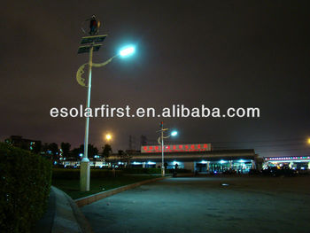 Wind and Solar Hybrid 30W LED Street Light