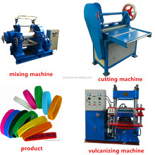 silicone bracelet making machine and production line