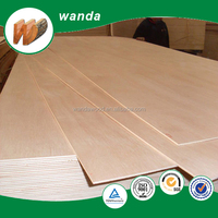 poplar wood 4mm bendable plywood sheet for sale