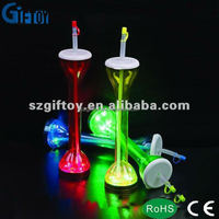 Crazy LED drinking cup with straw