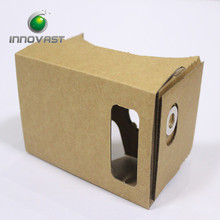 OEM Assembly Mobile Phone Google Cardboard 3D Virtual Reality Box V2.0 With NCF 4.0-4.7 Screen