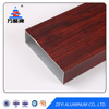 Wooden Aluminum Extrusion Profile For Doors