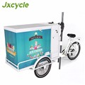 CE approve summer use ice cream bike for sale pedal version hot sell