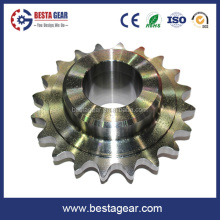 High precision steel roller chain sprocket gear