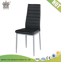 modern&cheap synthetic leather chair design for restaurant/dining room/fancy living room chairs/waiting room chairs sale used