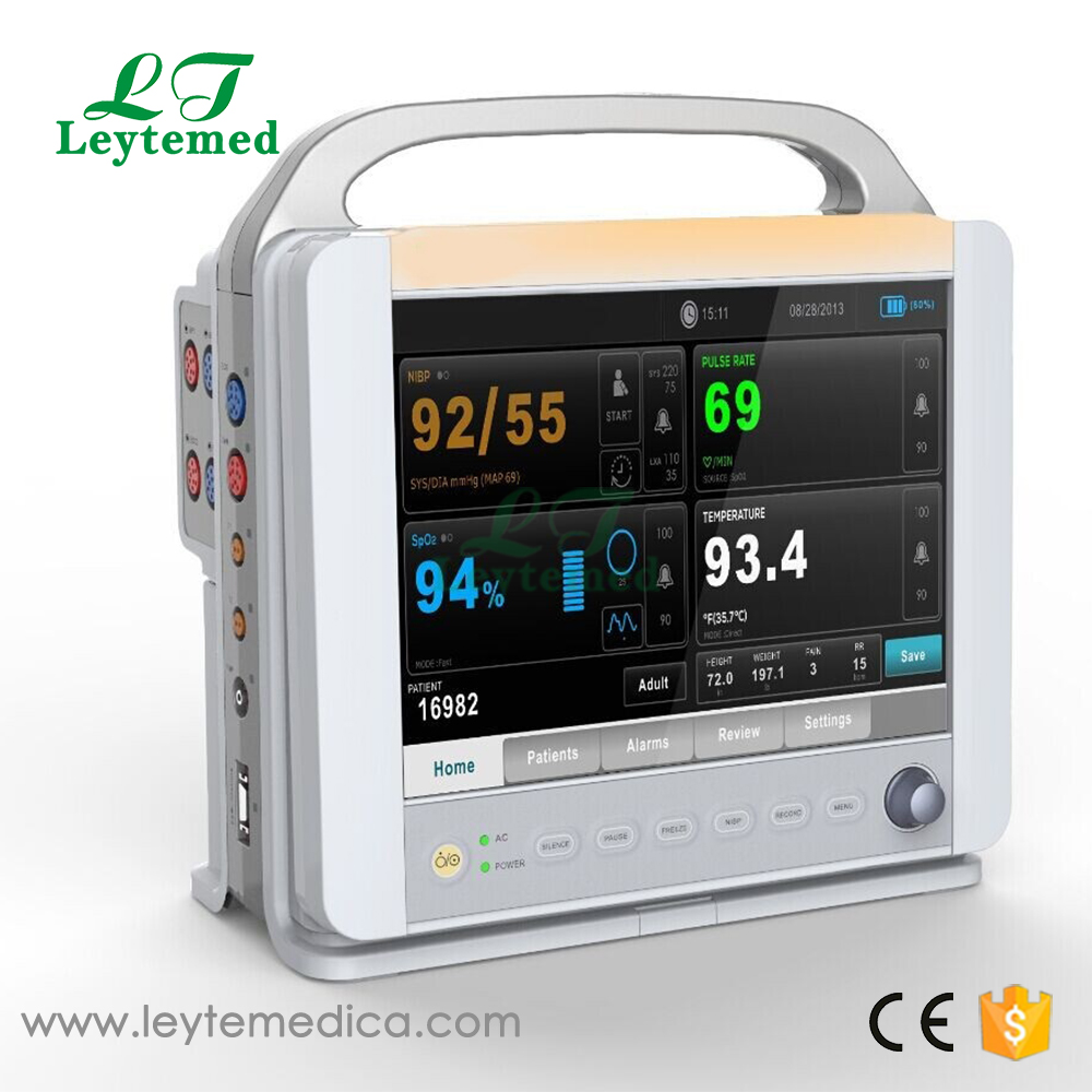 LTPE12 most popular Hospital 12'' portable Patient Monitor for patient using
