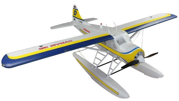 1068961- 4 Ch RC Airplane DHC-2 RTF 1500mm Wingspan Seaplane