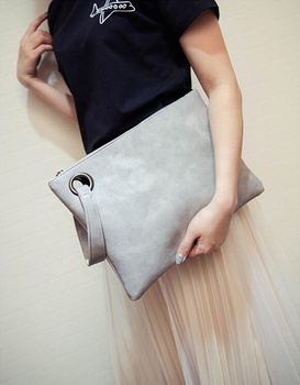 Fashion women's clutch bag leather women envelope bag clutch evening bag Handbag