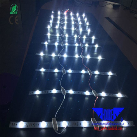 hot sale flexible led mesh curtian soft led curtain type strip for light box