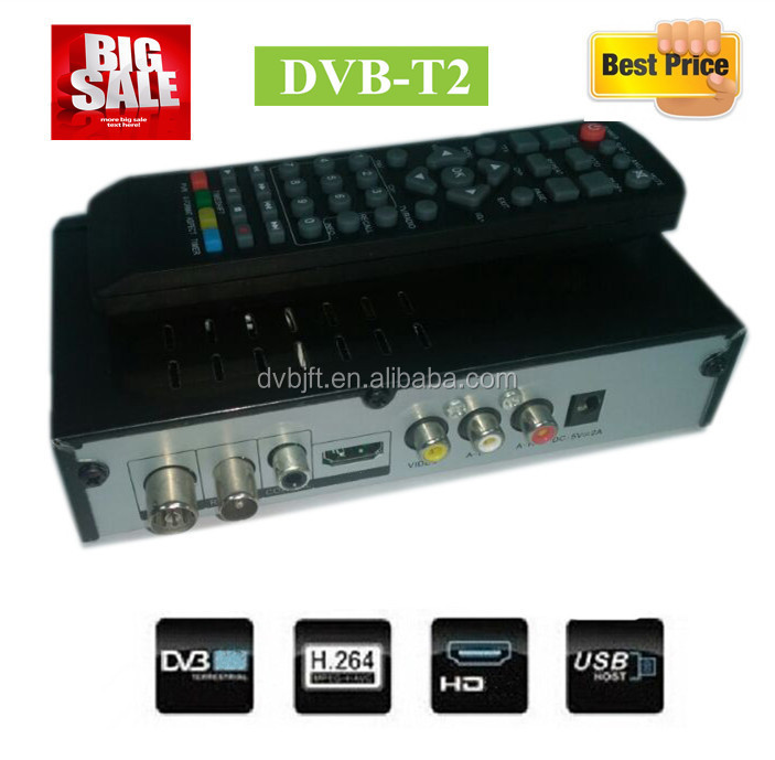 In stock dvb-t2 set top box satellite receiver software upgrade for Asia