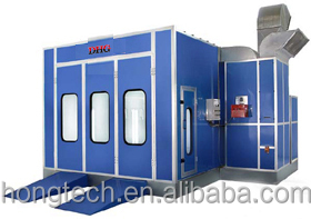 top quality Customize Riello burner auto baking room spray booth