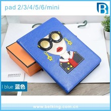 Hot Fashion Women Girls PU Leather Tab Case For iPad 2/3/4/5/6 For iPad Mini Folder Flip Cover