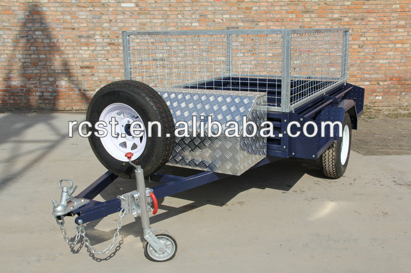 Painted box/utility/cage trailers