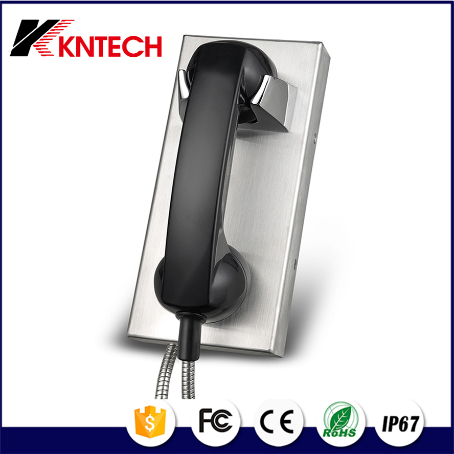 KNTECH no keypad phone KNZD-14 Auto dial telephone for jail gsm public phone