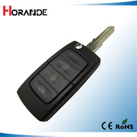 new product for ford folding flip key fob case 3 buttons