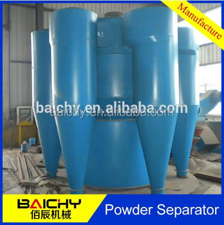 Fine powder cyclone separator / classifier used in coal industrial