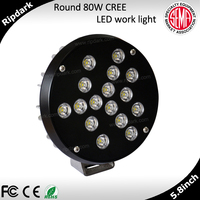Off road LED light in automotive spot auxiliary light for honda africa twin