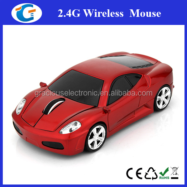 New car shaped 2.4GHz wireless car mouse