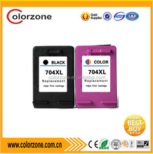 compatible hp 704 XL ink cartridge for hp D2060 D2010 K110A K010A