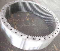 Sand casting teeth ring gear