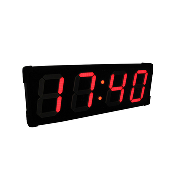 Factory price large stopwatch sports digital wall led countdown timer