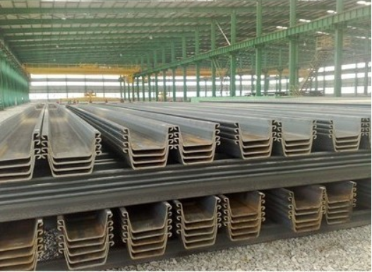 usd430 hot rolled WR/WRU larson U style w400-600 steel sheet pile
