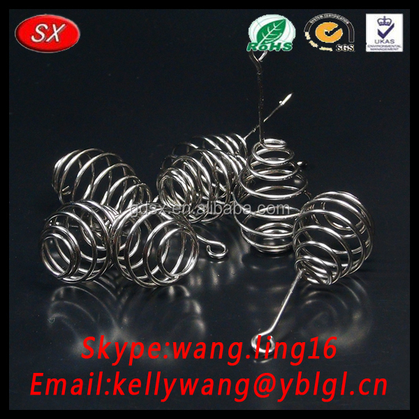 Dongguan Factory Stainless Steel OEM Rod Spring Automatical Hook Rod Spring Fishing Gear
