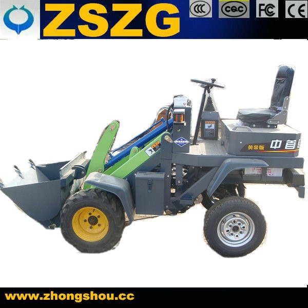 electric farming use battery engine wheel loader