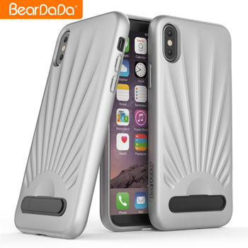 Latest High Quality Kickstand mobile phone shell for iphone x tpu phone case