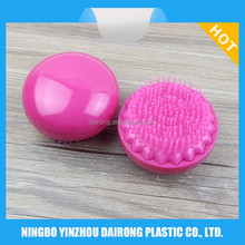 2017 New Product Plastic Round Shape Personalized Hair Color Brush