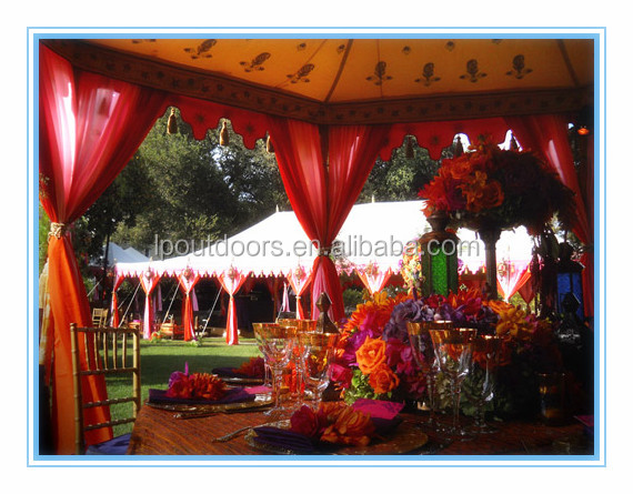 Attractive marquee tent wedding tent with linings&curtain for event party