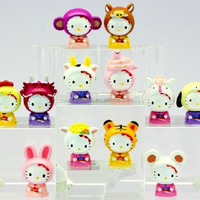 Small Cartoon Surprise Egg Toys Figurines