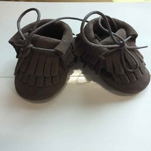 tengxing soft sole baby shoes Leather chaussons Krabbelschuhe Butterflies white