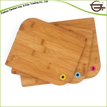 CE Certificated beautiful cock handcrafted cutting board