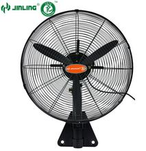 Industrial style big round cover decorative wall mounted electric propeller fans out door