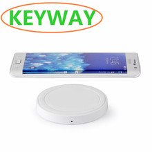 Best price cell phone portable mini qi mobile wireless charger Q5 for iphone 6 6s 6plus 7 7plus
