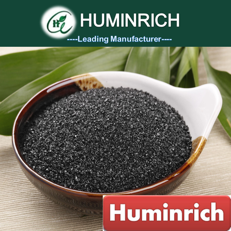 Huminrich Shenyang 2-5mm 70HA+10K2O Crystal Agriculture Brown Coal