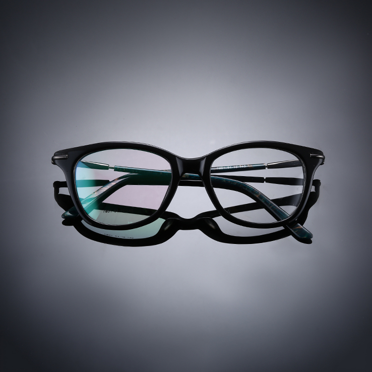 Double color CP transparent CCP5 spectacle frame