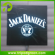 Custom LOGO printing el lighting poster/el advertisement poster