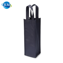 Rongmei Hot Sale Wine Bottle Recycled Tote Foldable Non Woven Bag