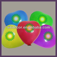 heart shape latex balloon for wedding