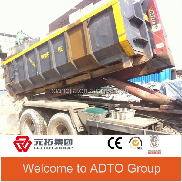 china factory 5ft new steel dumpster hooklift containers