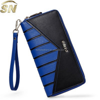 2015 new arrival European women's leather wallet for business promotion