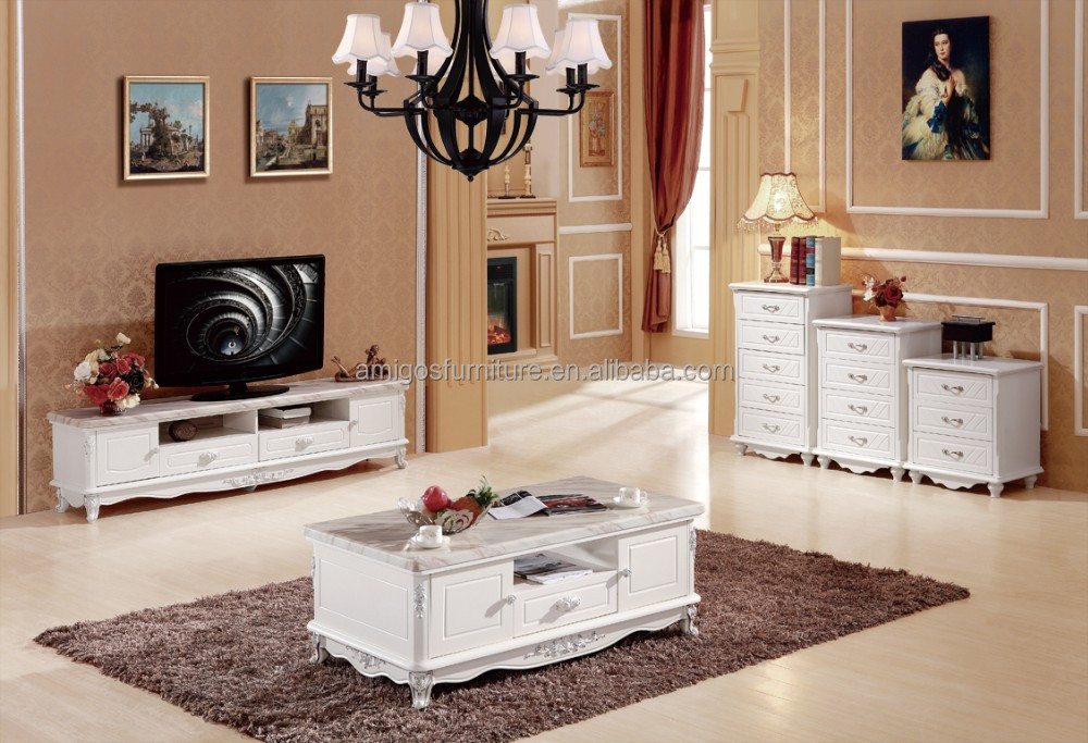 New Classic Furniture Marble TV Cabinet