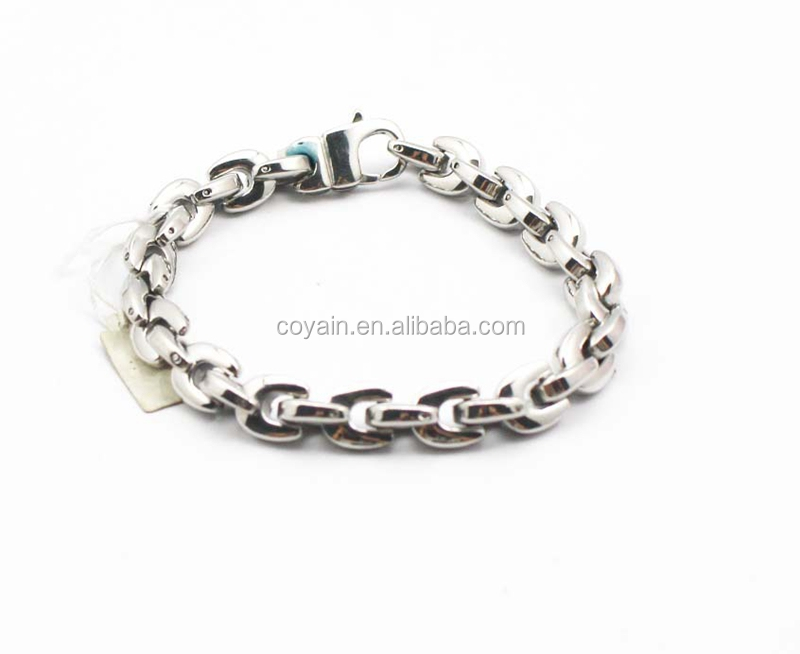 Factory Price 316L Stainless Steel Link&Chain Bracelet
